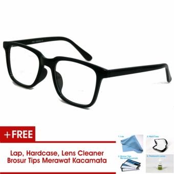 Frame Kacamata Pria Wanita Korea Vintage 75045 Hitam Bisa Dipasang Lensa  Minus Di Optik Terdekat 9412d26424