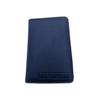 Garuda Case Cover Passport Holder Collorfull - Biru Navy
