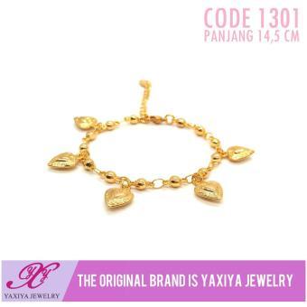 Gelang Jurai Anak Permata Perhiasan Imitasi Gold Yaxiya Jewelry 1301