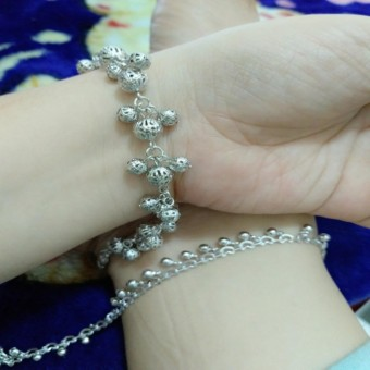 gelang tangan kaki silver xuping