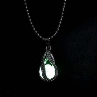 Cahaya Dalam Gelap Liontin Kalung Antik Perhiasan Bercahaya untuk Pria Modis Wanita-Internasional