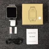 Great Smartwatch DZ09 Bluetooth with SIM Card and Micro SD slot for Android Smartphone - Silver - 3