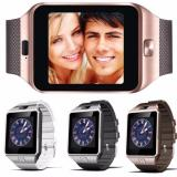 Great Smartwatch DZ09 Bluetooth with SIM Card and Micro SD slot for Android Smartphone - Silver - 2