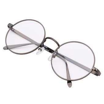 Timely - Gun Frame Retro Round Sunglasses 8890 GUN - Kacamata Pria dan  Wanita - Bulat fcecdce22d