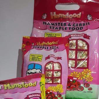 1 pack Hamsfood Netto 1000 Gr / Makanan Hamster 1000 Gr / Makanan Pengerat / Hamster