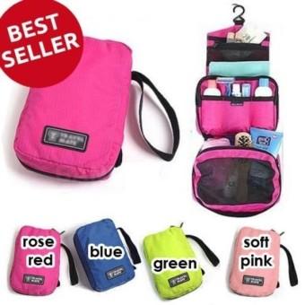 Harga Promo - Toilet Bag Organizer/Tas Travel Bag/Cosmetic Pouch/Bag Kosmetik