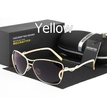 HDCRAFTER Hot Selling Sun Kacamata untuk Wanita Vintage Terpolarisasi  Mengemudi Sunglasses untuk Perempuan Merek Perancang Wanita 75448d7484