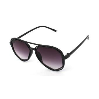 Hindfieid 2118 Baru Modis Wanita Pilot Kacamata Hitam Poligon Tidak Beraturan Toad Bingkai Logam Matahari Kacamata