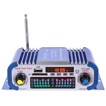 HY601 Hi-Fi 12 V Otomatis Mobile Digital Pengeras Suara Stereo Audio Mode Memimpin Tenaga