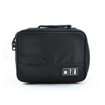 IBERL 1 PC Portable Digital Storage Bag Organizer Case untuk HDD Chargers Travel Aksesoris-Intl