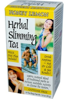 Harga 21st Century Health Care, Herbal Slimming Tea, Honey-Lemon, Caffeine Free