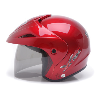 Harga WTO Helmet Focus - Candy Red
