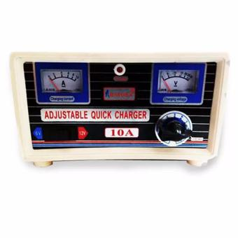 Harga Rayden 10A OTOMATIS Adjustable Quick Charger Aki Accu 10 Ampere Power Supply Baterai Battre Battery Mobil Motor