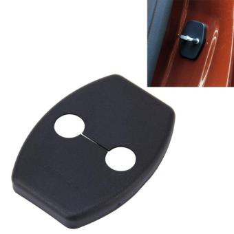 Harga 4 PCS Car Door Lock Buckle Decorated Rust Guard Protection Cover For Toyota RAV4 Corolla Reiz VIOS Camry Highlander Yaris Prado Prius Crown - intl