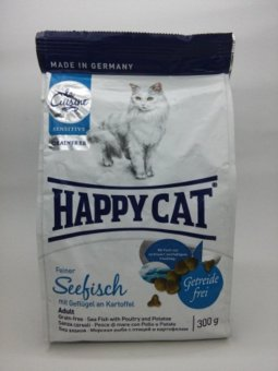 Harga Happy Cat Sea Fish 300grm