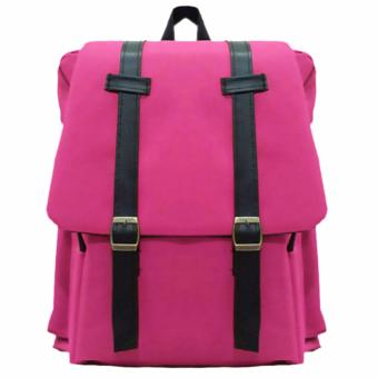 Harga Bag & Stuff Korea M2M Backpack - Pink
