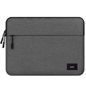 Harga ANKI - Nylon Laptop Sleeve Bag Pouch for Macbook Air/Pro/Retina 15.4 inches -Grey-