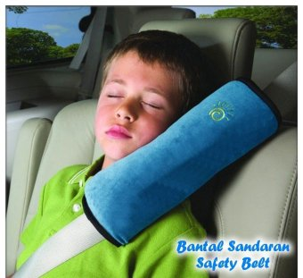 Harga Best Bantal Sandaran Safety Belt Mobil Car Accessories Pillow Aksesoris - Biru