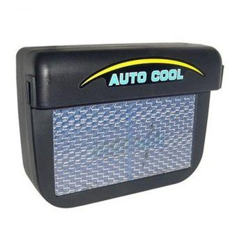 Harga Solar Powered Car Air Ventilation System - Black