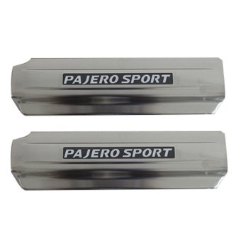 Harga Otoproject Silplate Mitsubishi Pajero Sport With Led Lamp - Silver