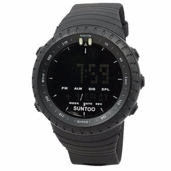 Harga Watch Sport Outdoor suntoo core new all Black - Black- YoLa_sHOp
