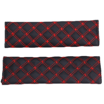 Harga Hang-Qiao Seat Belt Cover Set of 2 (Red)
