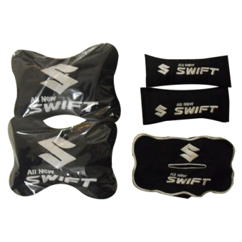 Harga Neo Bantal Car Set All New Swift - black