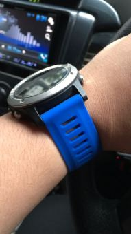 GARMIN STRAP - Dark Blue