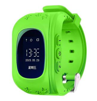Harga liangun Kids Safe GPS/GSM Watch Wristwatch SOS Call Anti Lost Smartwatch For Kids, Green