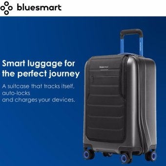Harga Bluesmart One - Smart Luggage: GPS, Remote Locking, Battery Charger (International Carry-on Size, TSA-Approved) - intl
