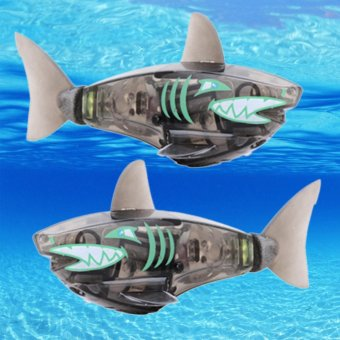 Harga Charger Powered Robot Shark Toy Black