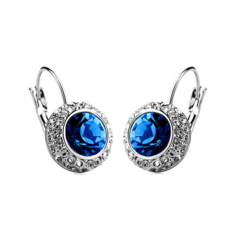 Harga Crystal earrings moon river
