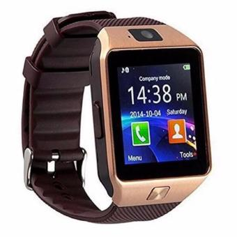 Harga DZ09 Smart Watch Bluetooth Touch Screen for Android and iOS(gold) - intl
