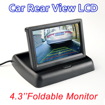 """4.3"""" Foldable Color TFT LCD Monitor 4.3 Inch HD Screen For Car Reverse Rear View"""