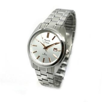 Alexandre Christie 6451 Jam Tangan Pria Stainless Steel Putih Silver Source Harga Alexandre .