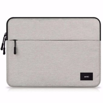 Harga ANKI - Nylon Laptop Sleeve Bag Pouch for Macbook Air/Pro/Retina 13.3 inches -Light Grey-