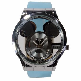 Harga Generic-Fin 69-Jam tangan fashion wanita-tali Leather-Blue