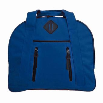 Harga Bag & Stuff Travallo Korea Travel Bag / Sport Bag / Gym Bag / Fitness Bag - Tas Travel / Tas Olahraga - Biru