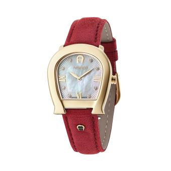 Harga AIGNER A40239 Messina - Jam Tangan Wanita - Leather - Red - Gold