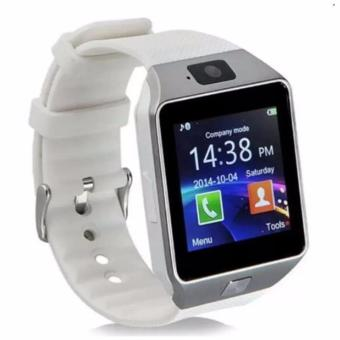 Harga DZ09 Smart Watch Bluetooth Touch Screen for Android and iOS(white) - intl