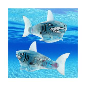 Harga Charger Powered Robot Shark Toy Blue