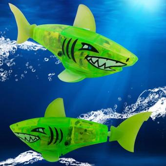 Harga Charger Powered Robot Shark Toy Green