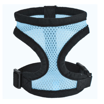 Harga GETEK Dog Cat Pet Control Soft Walk Safety Harness Strap Collar Vest XL (Blue)