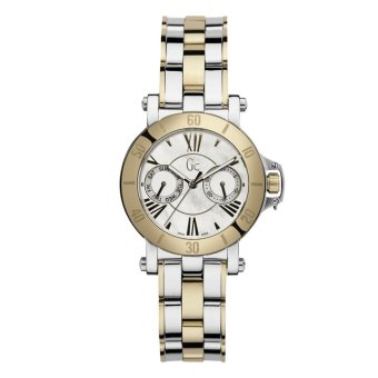 GUESS COLLECTION Gc FEMME X74013L1S - Jam Tangan Wanita - Stainless - Silver - Gold