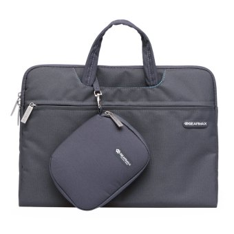 GEARMAX Eco-friendly Canvas Laptop Case 14 Inch Gray - Intl