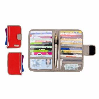 Blitza Dompet Kartu Card Holder Wallet Organizer Guard Kartu Kredit Source · D renbellony Card Holder Light Red Tempat kartu Dompet Kartu Card organizer