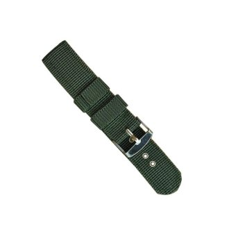 Harga High Quality Store New Men Strong Infantry Military Wrist Army Nylon Canvas Strap Band for Watch 20MM