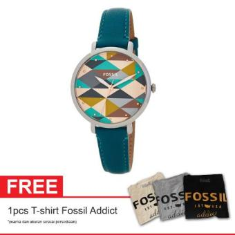 Harga Fossil ES4090 Free Fossil Addict T shirt
