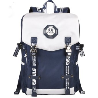 Harga Computer Travel Outdoor Backpack (Dark Blue)