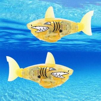 Harga Charger Powered Robot Shark Toy Yellow